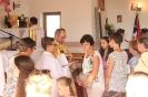 Poświęcenie stacji Drogi Krzyżowej oraz obrazów św. Jana Pawła II i św. Faustyny